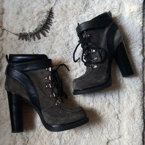Nine West Smokino 6 chunky platform boots